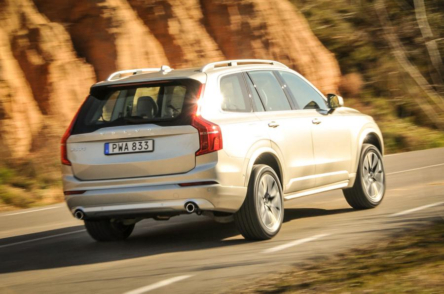 Volvo xc90 t8 2015 rear view